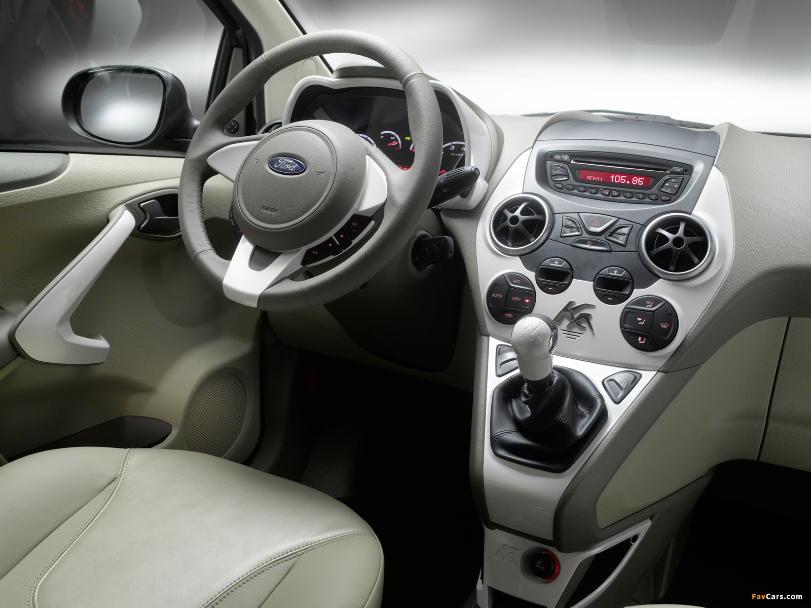 Ford Ka Titanium+ 2010 images (1600 x 1200)