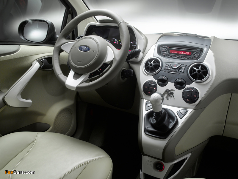 Ford Ka Titanium+ 2010 images (800 x 600)