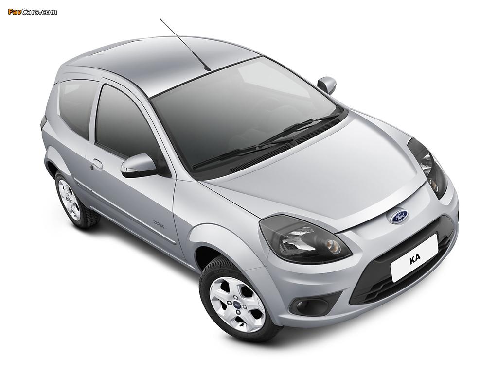Images of Ford Ka BR-spec 2011 (1024 x 768)