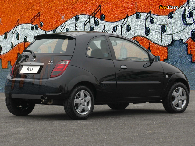 Pictures of Ford Ka MP3 2005–07 (640 x 480)