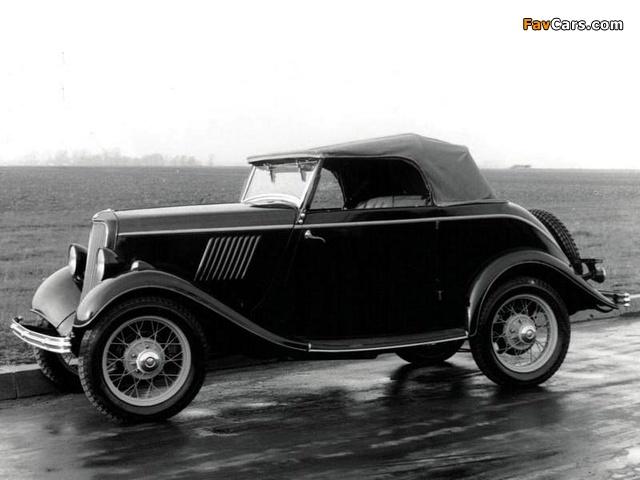 Ford Köln Cabriolet (Y) 1932–33 photos (640 x 480)