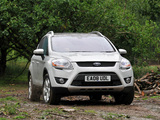 Ford Kuga UK-spec 2008 wallpapers