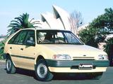 Pictures of Ford Laser 5-door (KE) 1987–89