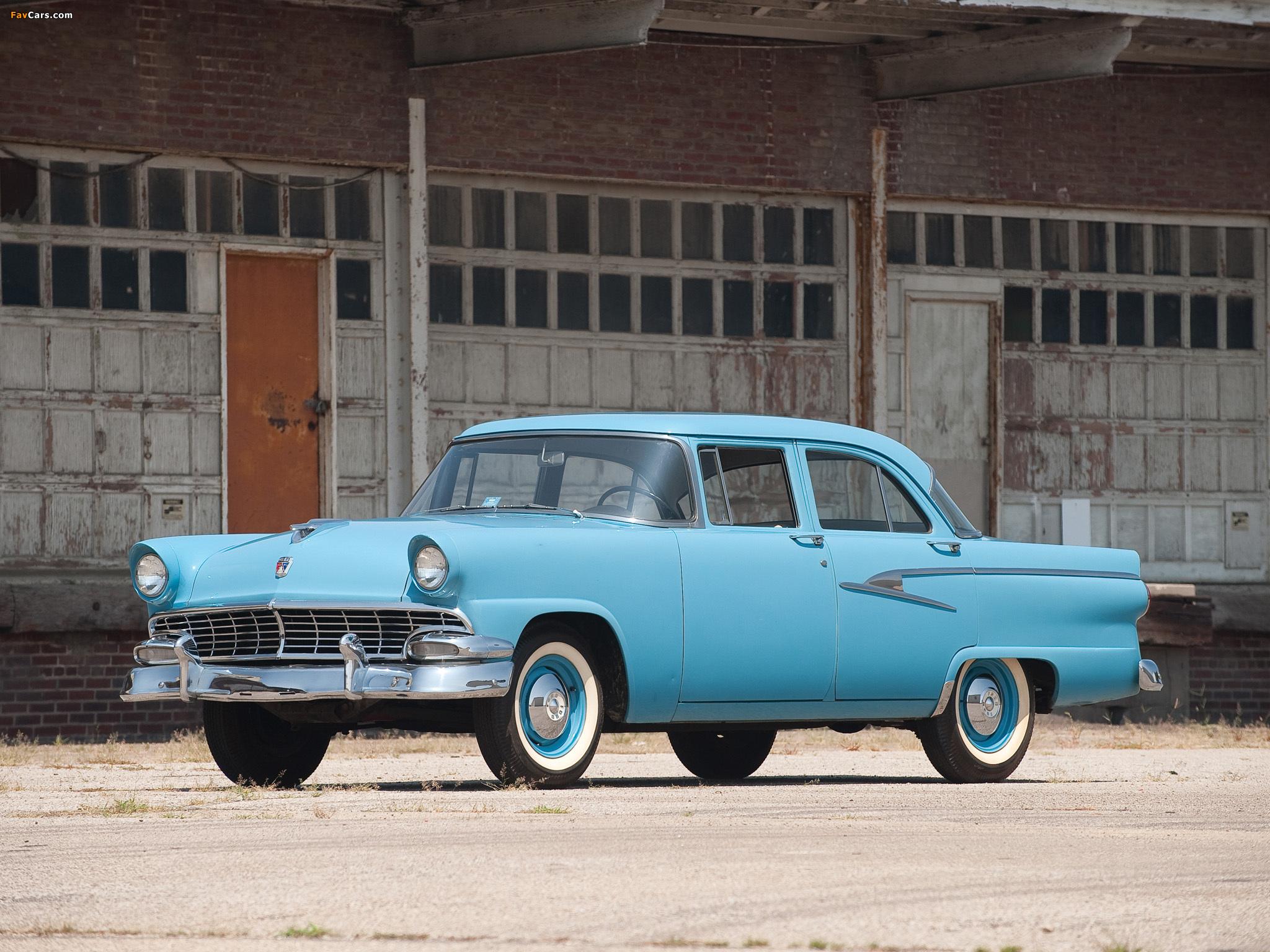 Ford mainline 4 door sedan 1956 pictures 2048x1536 for 1956 ford 4 door