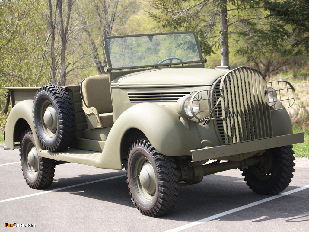 Pictures of Ford Marmon-Herrington LD2-4 1939 (1024 x 768)