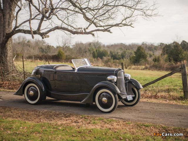 Ford V8 Special Speedster 1932 images (640 x 480)