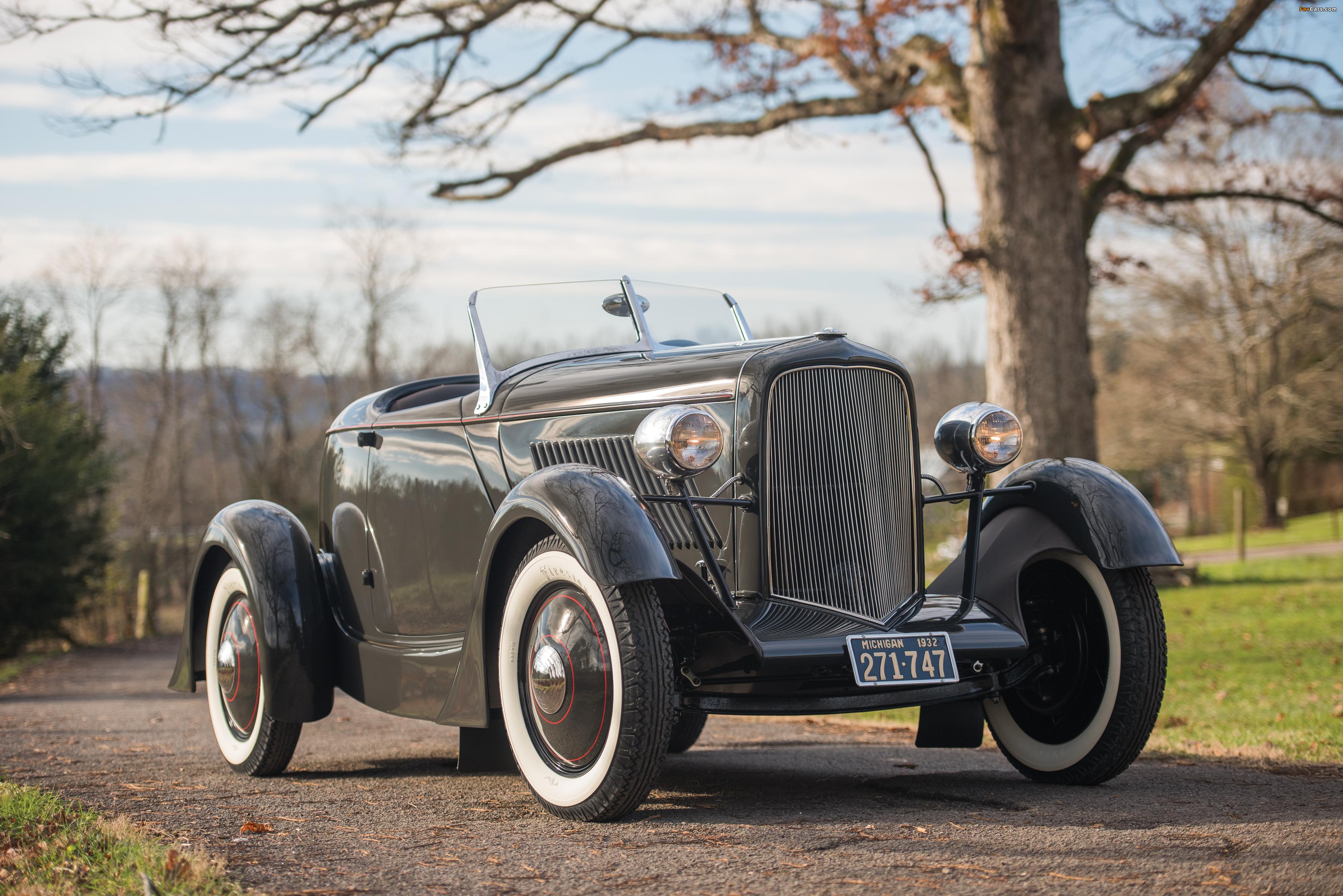 Ford V8 Special Speedster 1932 photos (3600 x 2403)