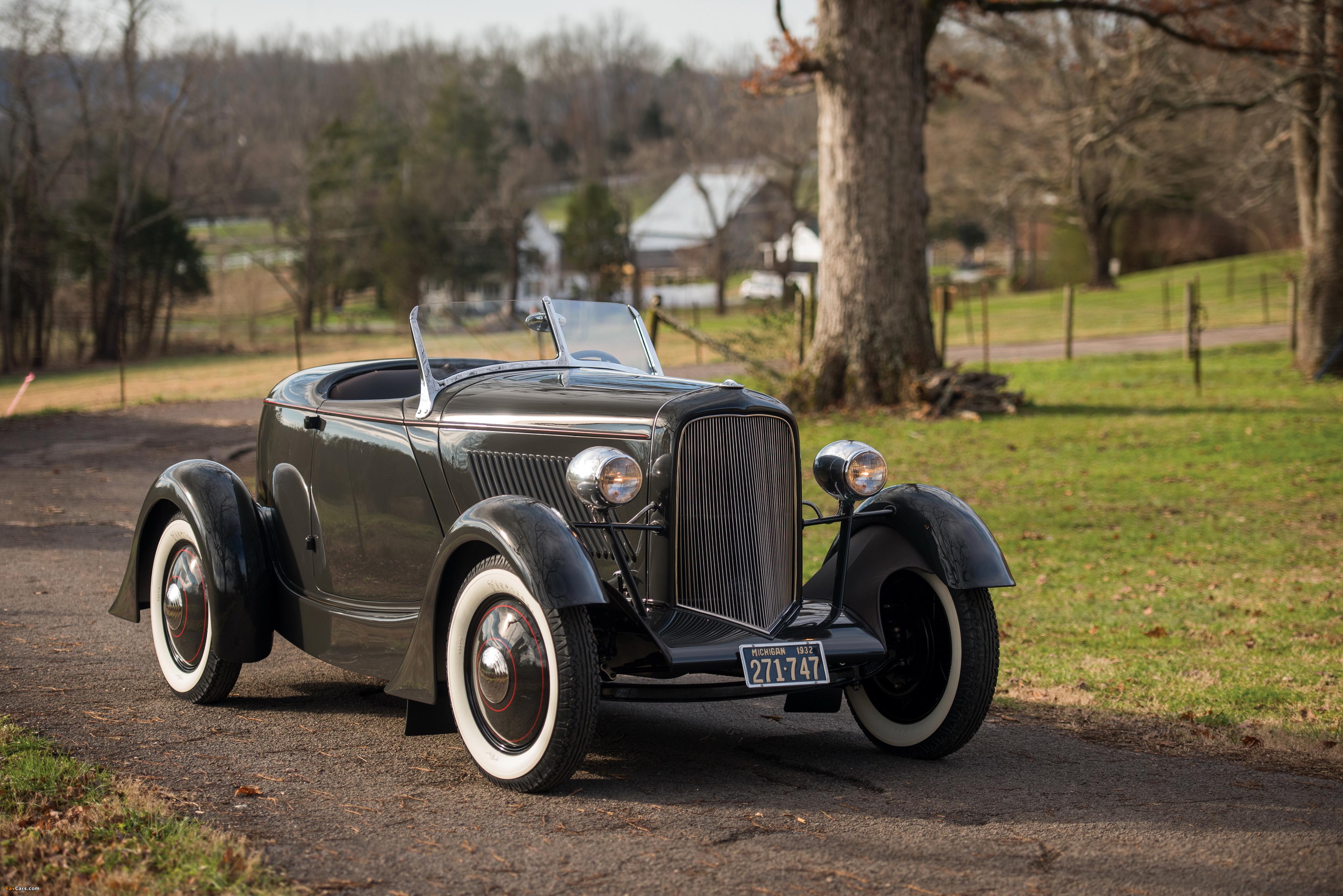 Ford V8 Special Speedster 1932 wallpapers (4000 x 2670)