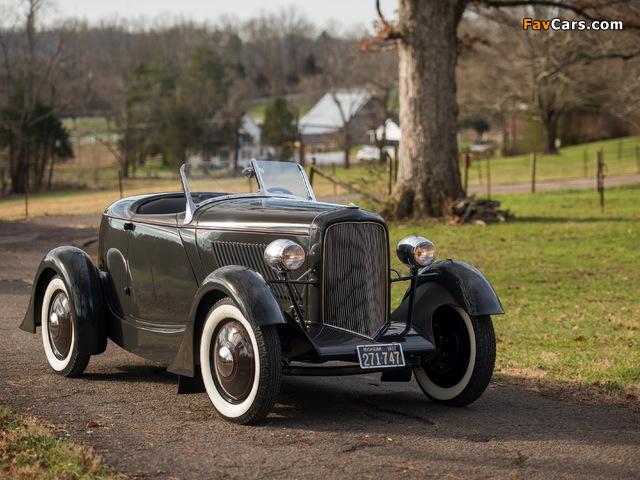 Ford V8 Special Speedster 1932 wallpapers (640 x 480)