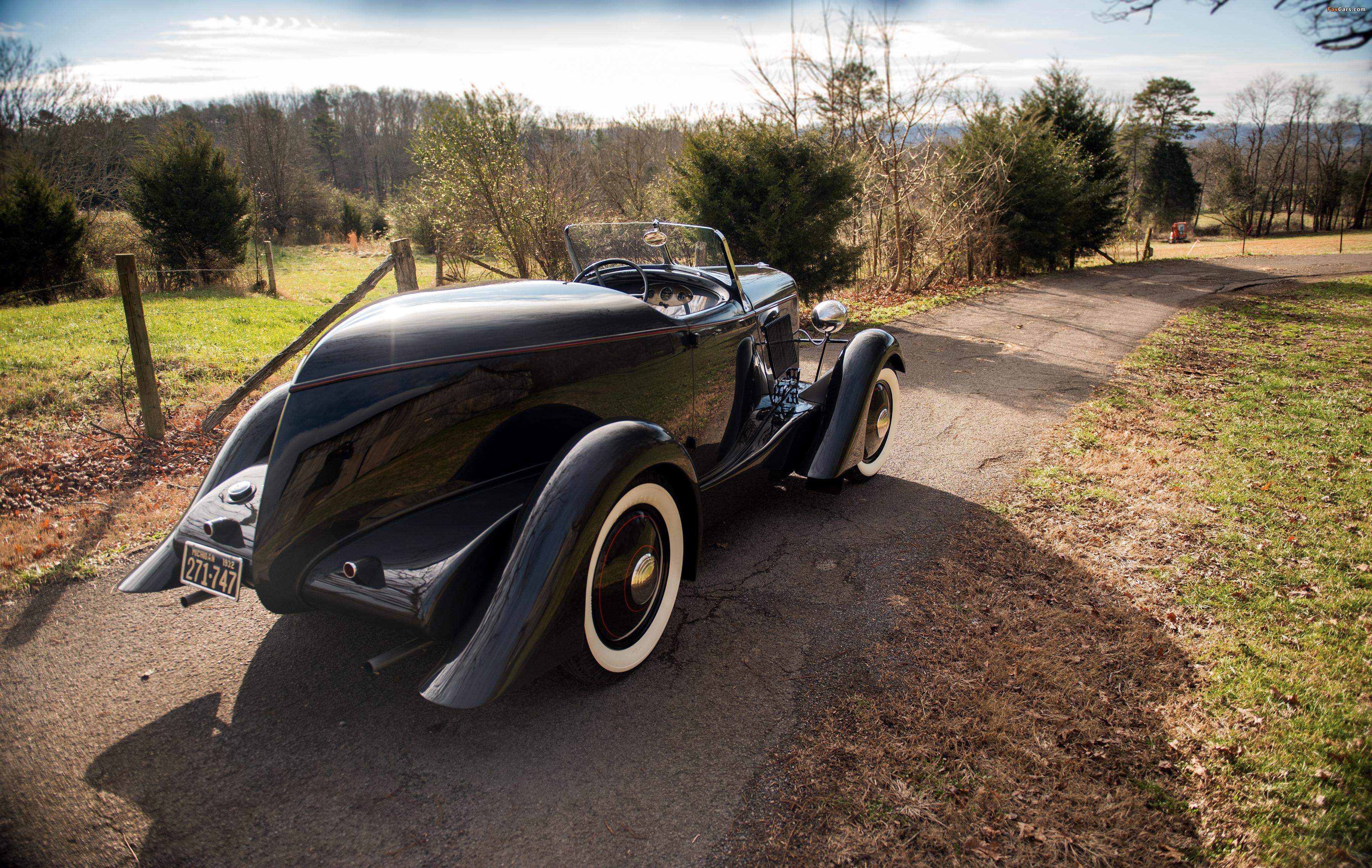 Photos of Ford V8 Special Speedster 1932 (3600 x 2279)