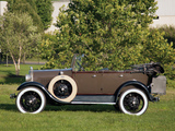 Ford Model A 4-door Phaeton (35A) 1927–29 images