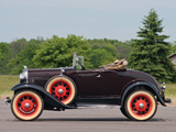 Ford Model A Roadster 1927–31 wallpapers