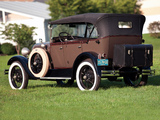 Ford Model A 4-door Phaeton (35A) 1927–29 wallpapers