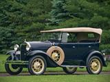 Модель ретро автомобиля (Газ-А, Форд), ручная работа. Цвет ...