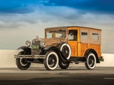 Ford Model A Station Wagon (150B) 1930–31 wallpapers