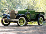 Ford Model A Open Cab Pickup (76V) 1930–31 wallpapers