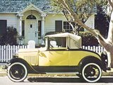 Ford Model A Sport Coupe (50B) 1930–31 wallpapers