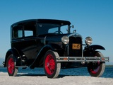 Ford Model A Tudor Sedan (55B) 1930–31 wallpapers