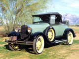 Ford Model A Roadster 1927–31 pictures