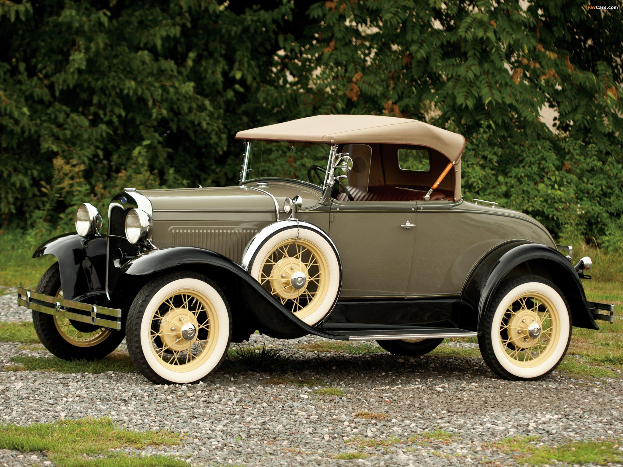 Resultado de imagem para Ford Model A (1927)~