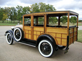 Images of Ford Model A Woody Station Wagon (150A) 1929