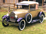 Photos of Ford Model A Sport Coupe (50A) 1927–29