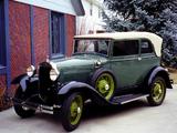 Photos of Ford Model A Convertible Sedan 1930–31