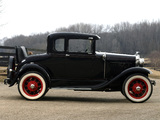 Photos of Ford Model A 5-window Coupe (45B) 1930–31