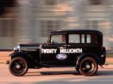Photos of Ford Model A Town Sedan 1930–31