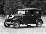 Photos of Ford Model A Tudor Sedan (55B) 1930–31