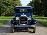 Pictures of Ford Model A Tudor Sedan (55A) 1927–29