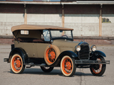 Pictures of Ford Model A 4-door Phaeton (35A) 1927–29