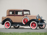 Pictures of Ford Model A Victoria (190B) 1930–31