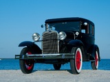 Ford Model A Fordor Sedan (170V) 1930–31 wallpapers
