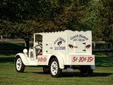 Ford Model AA ¾-ton Ice Cream Truck 1929 photos