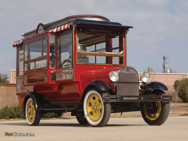 Ford Model AA Popcorn Truck by Cretors 1929 images (640 x 480)