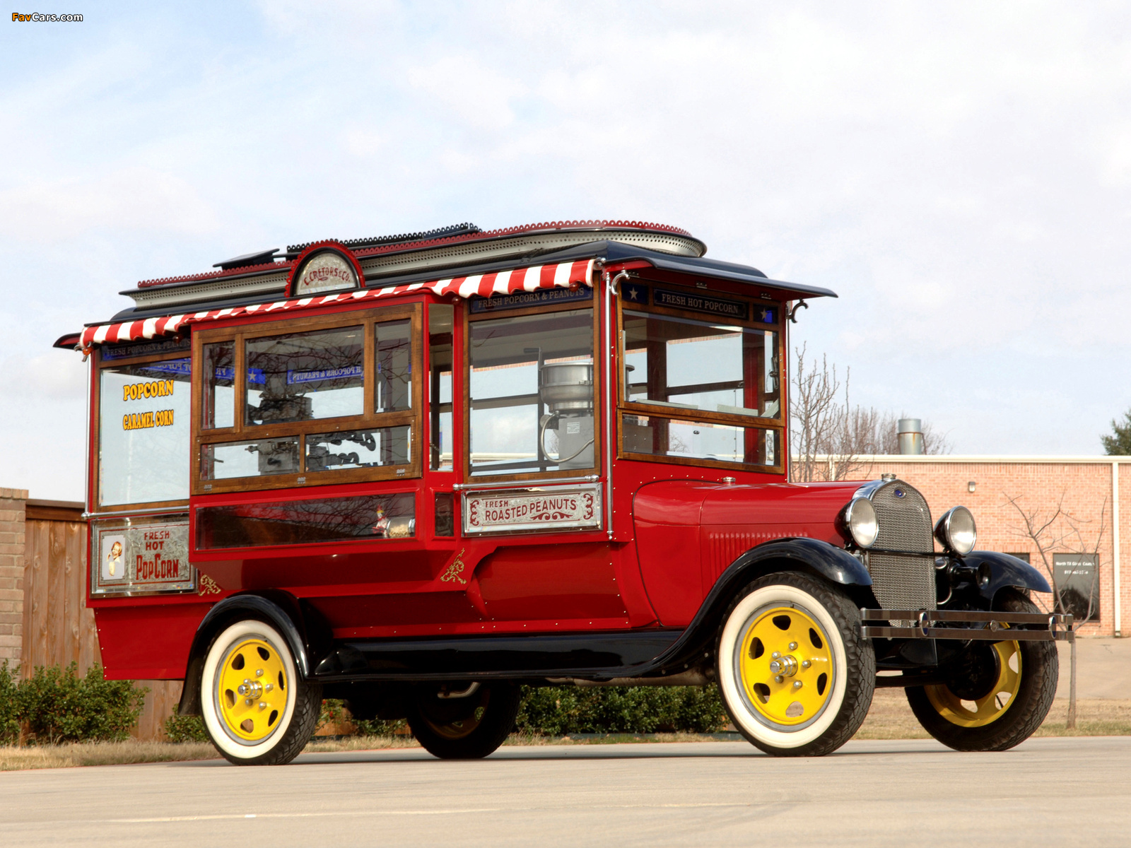 Ford Model AA Popcorn Truck by Cretors 1929 photos (1600 x 1200)