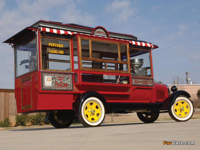 Ford Model AA Popcorn Truck by Cretors 1929 wallpapers (640 x 480)