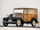 Ford Model B Station Wagon (150) 1932 photos