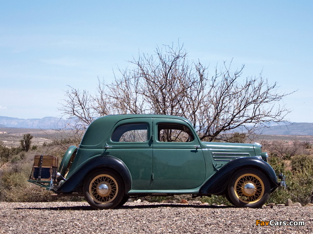 Ford Model CX Saloon 1935–38 images (640 x 480)
