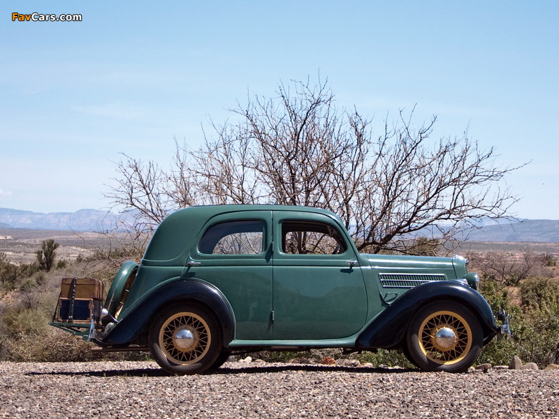 Ford Model CX Saloon 1935–38 images (800 x 600)
