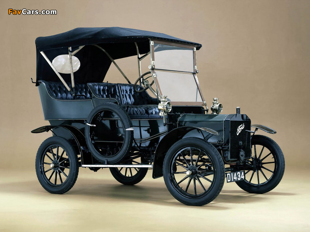 Images of Ford Model N Touring 1906 (640 x 480)