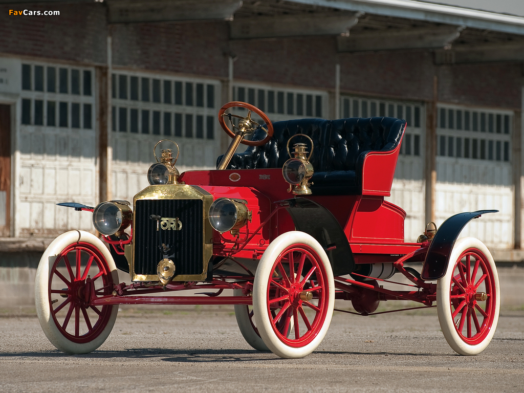 Ford Model N Runabout 1906–08 wallpapers (1024 x 768)