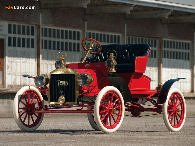 Ford Model N Runabout 1906–08 wallpapers (640 x 480)