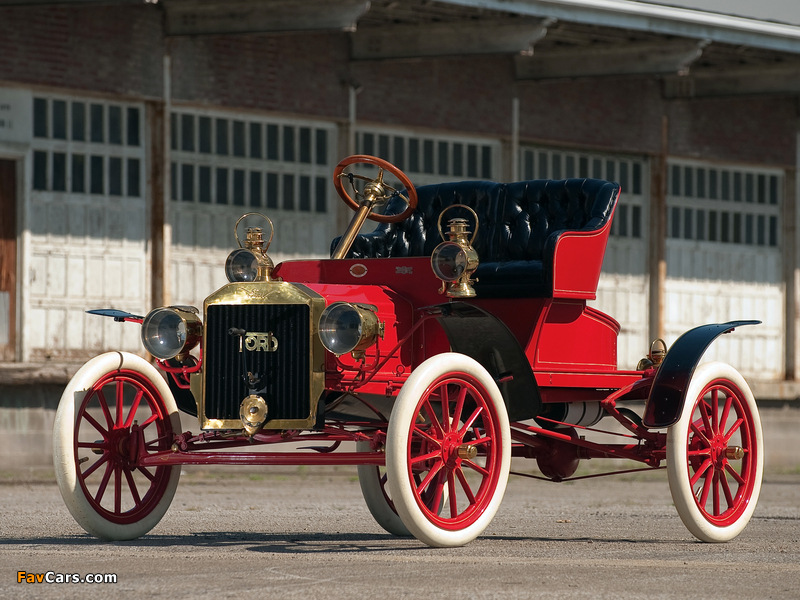 Ford Model N Runabout 1906–08 wallpapers (800 x 600)