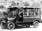 Pictures of Ford Model T Police Truck 1919