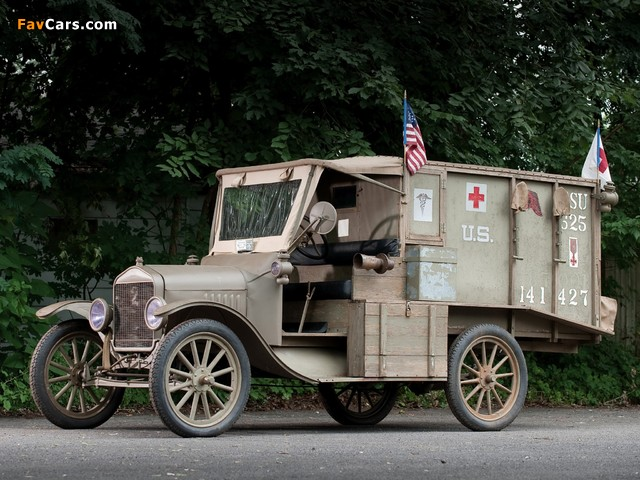 Ford Model T Ambulance 1917 wallpapers (640 x 480)