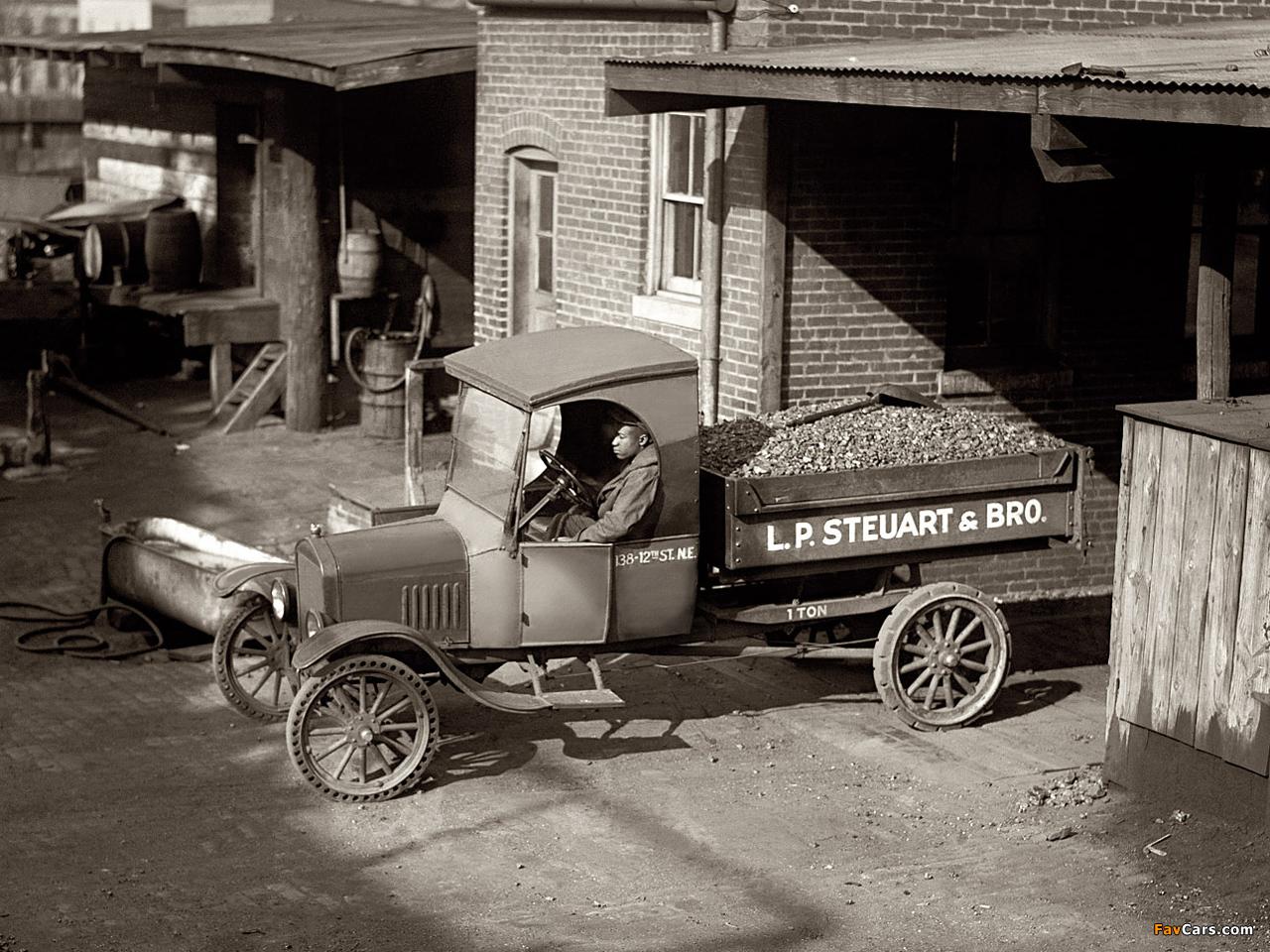 Ford Model Tt Dump Truck 1924 Pictures 1280x960