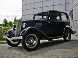 Pictures of Ford Model Y Long Rad Tudor Saloon 1933–37