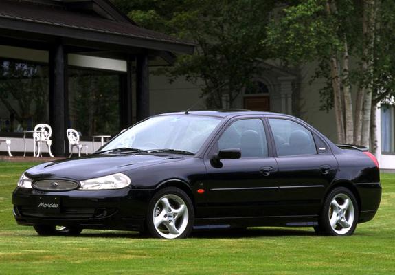 Ford Mondeo Sedan JP-spec 1996–2000 wallpapers